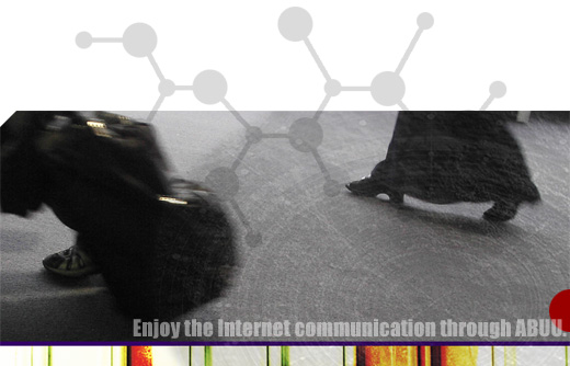 Enjoy the Internet communication through ABUU.